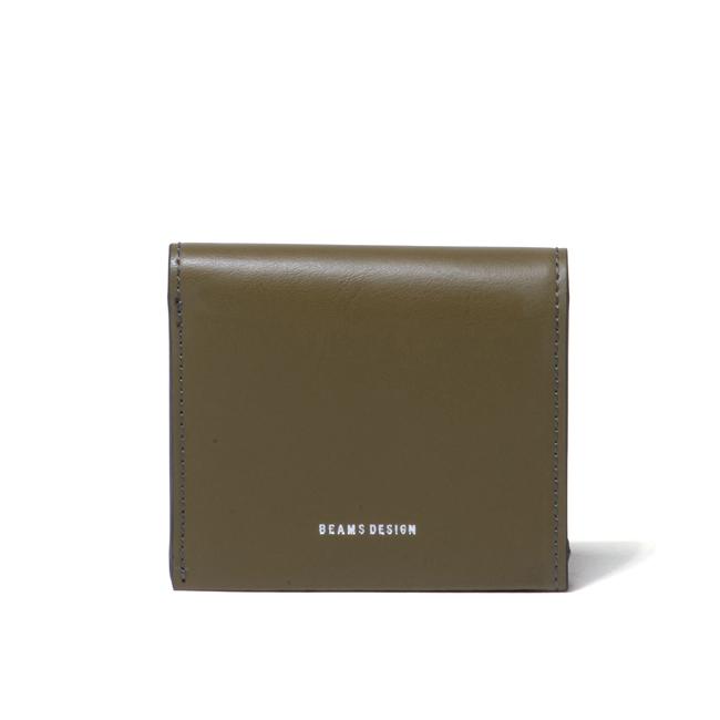BEAMS DESIGN イタリアエコ 折り財布