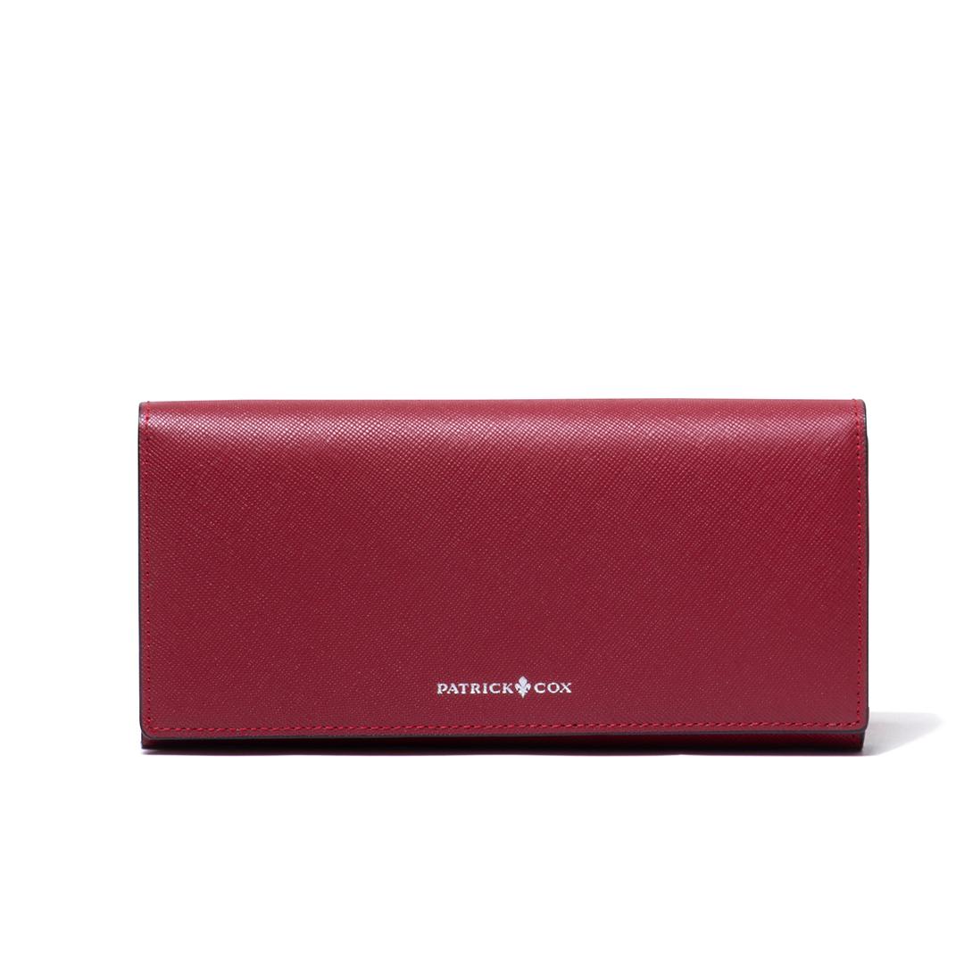 PATRICK COX シークレットパイソン かぶせ型長財布